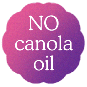 No canola oil